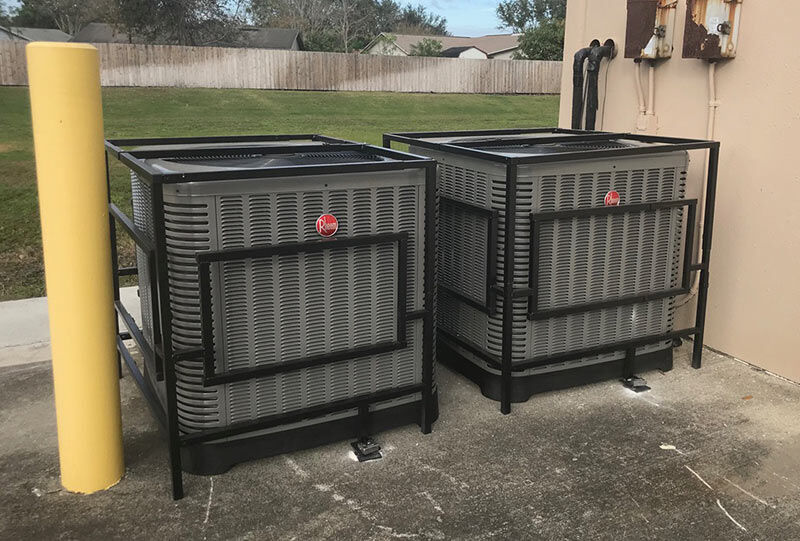 Adjustable Attractive Affordable Air Conditioning Cages